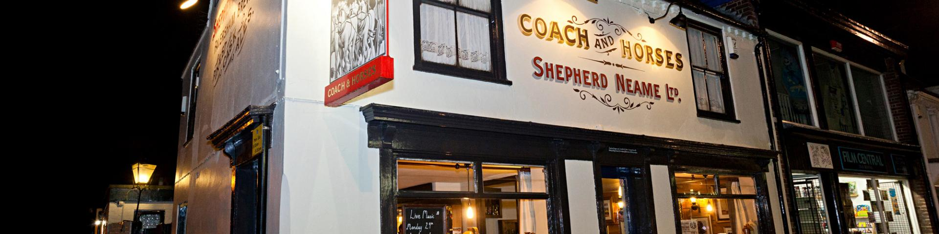 Coach & Horses Whitstable Local Attratcions